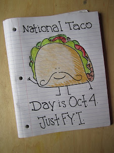 National Taco Day is Oct. 4th!
