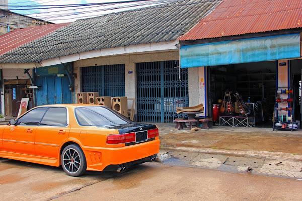Shop houses tiendas de Savannakhet - Laos