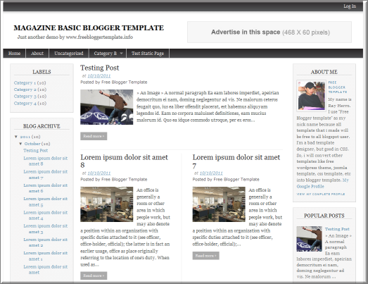 editable blogger templates free - 7 best free blogger templates for 2012 the tech next