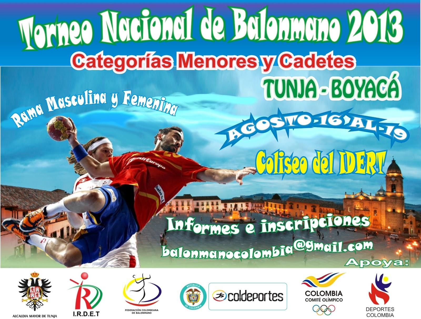 Colombia- Campeonato Nacional Menores y Cadetes 2013 Afiche+2013+4