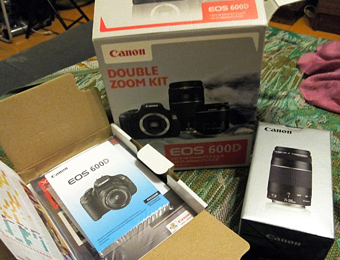 Canon EOS 600D содержимое коробки