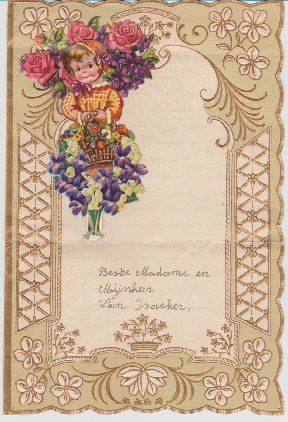 Sint katelijne waver blogt nieuwjaarsbrieven oude en de for Leuke versiering