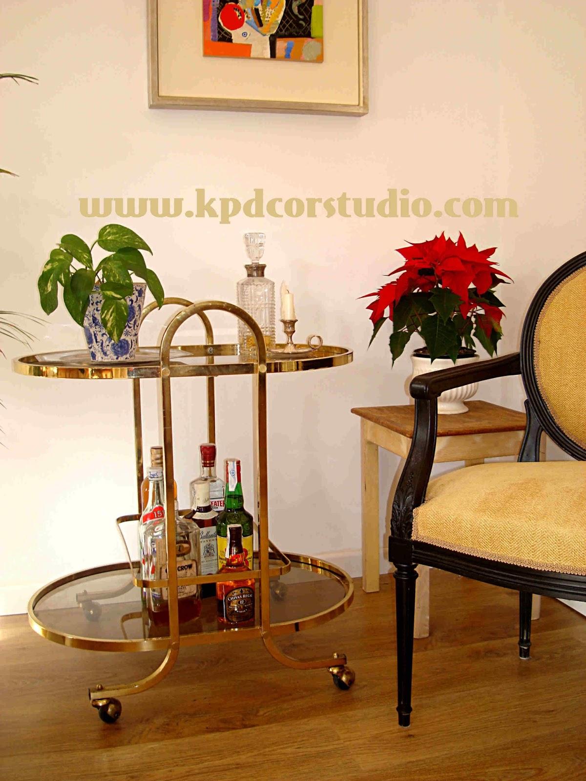 Kp tienda vintage online camarera antigua ba ada en lat n - Camareras muebles auxiliares ...