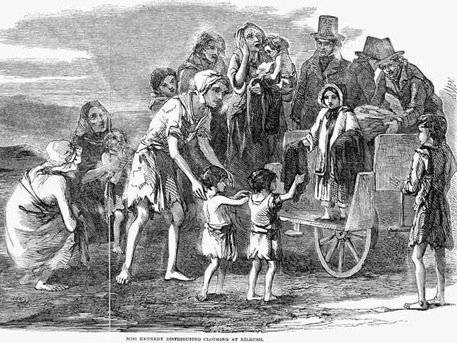 500 child skeletons from Irish famine found in grave