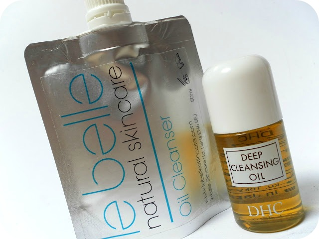 A picture of Le Belle Natural Skincare Oil Cleanser and DHC Deep Cleansing Oil