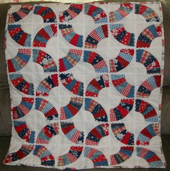Country Scrap Quilts: patriotic baby bunting quilt : quilted baby bunting - Adamdwight.com