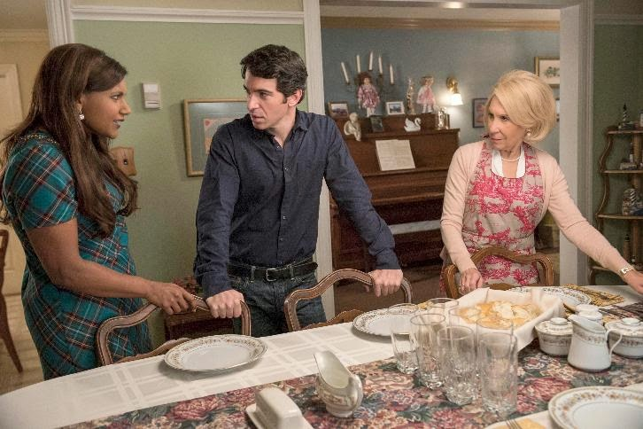 The Mindy Project - Episode 3.15 - Dinner At The Castellanos - Promotional Photos