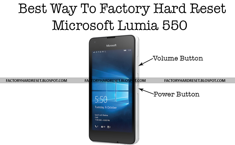 how to factory reset microsoft lumia Ipads from