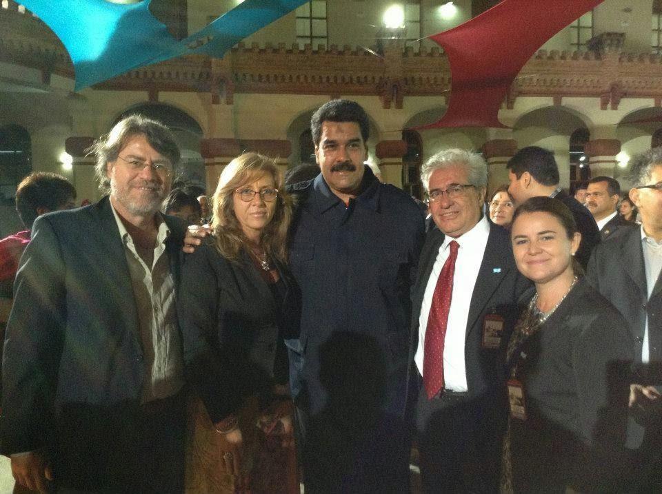 SOLIDARIDAD CON VENEZUELA Y LA REVOLUCION BOLIVARIANA