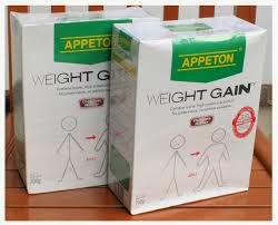 APPETON WEIGHT GAIN, SUSU BER