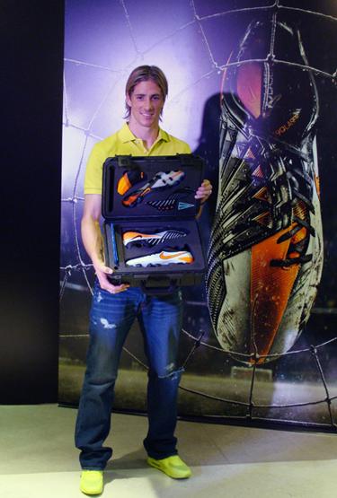 botas de Fernando Torres