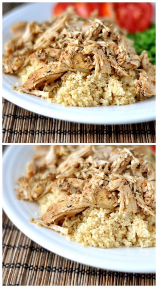 Slow Cooker Mediterranean Pork with Couscous from Mel\'s Kitchen ...