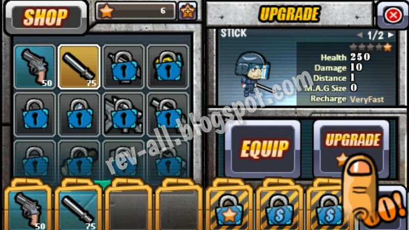 beli senjata permainan android SWAT vs Zombies (rev-all.blogspot.com)