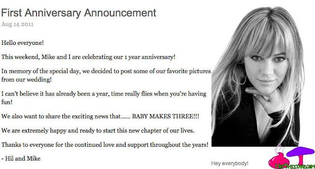 Hilary Duff Pregnant