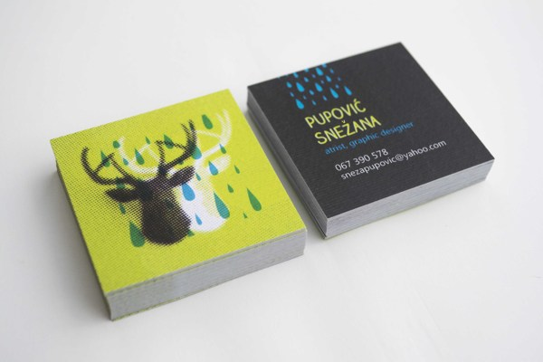 25 Illustrative Business Card Designs - Jayce-o-Yesta