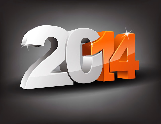 Happy new year 2014 HD wallpaper free download PC