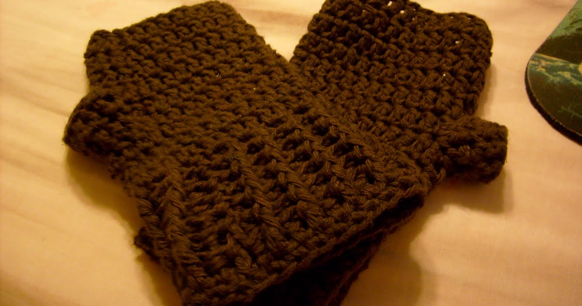 Koda Bodas Knit-Crochet World: Moms Crochet Fingerless Gloves