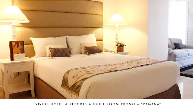 Vivere Hotel & Resorts August Room Promo - PAMANA