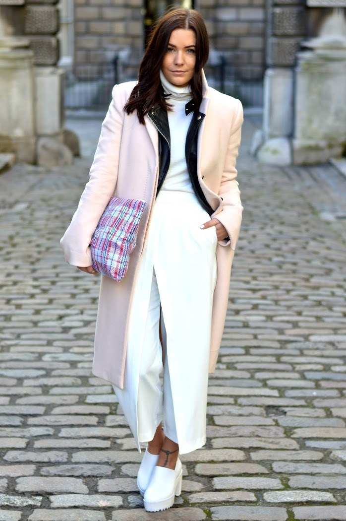 Top Uk Fashion Blog Outfits 2014 Pastel Pink