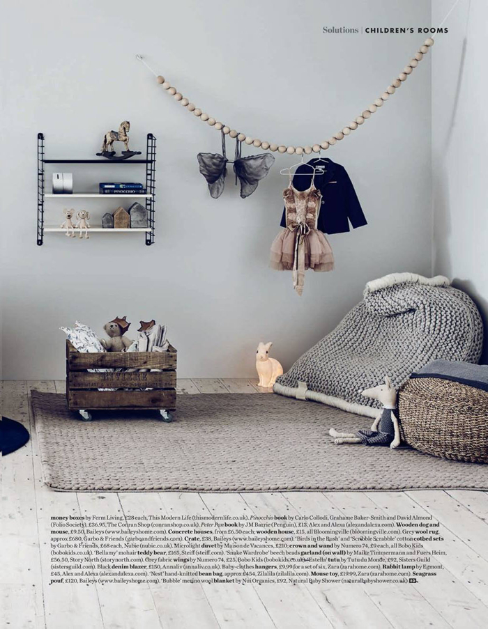 children room - styling Alex Kristal  photo Jake Curtis
