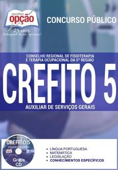 Apostila Concurso CREFITO 5ª Região - RS - Auxiliar de Serviços Gerais - 2016