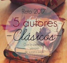 Reto 2017: 5 autores clásicos