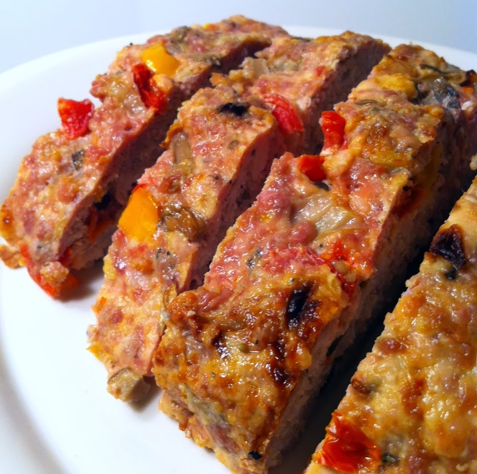 ... : Sausage, vegetables give turkey meatloaf recipe an Italian accent