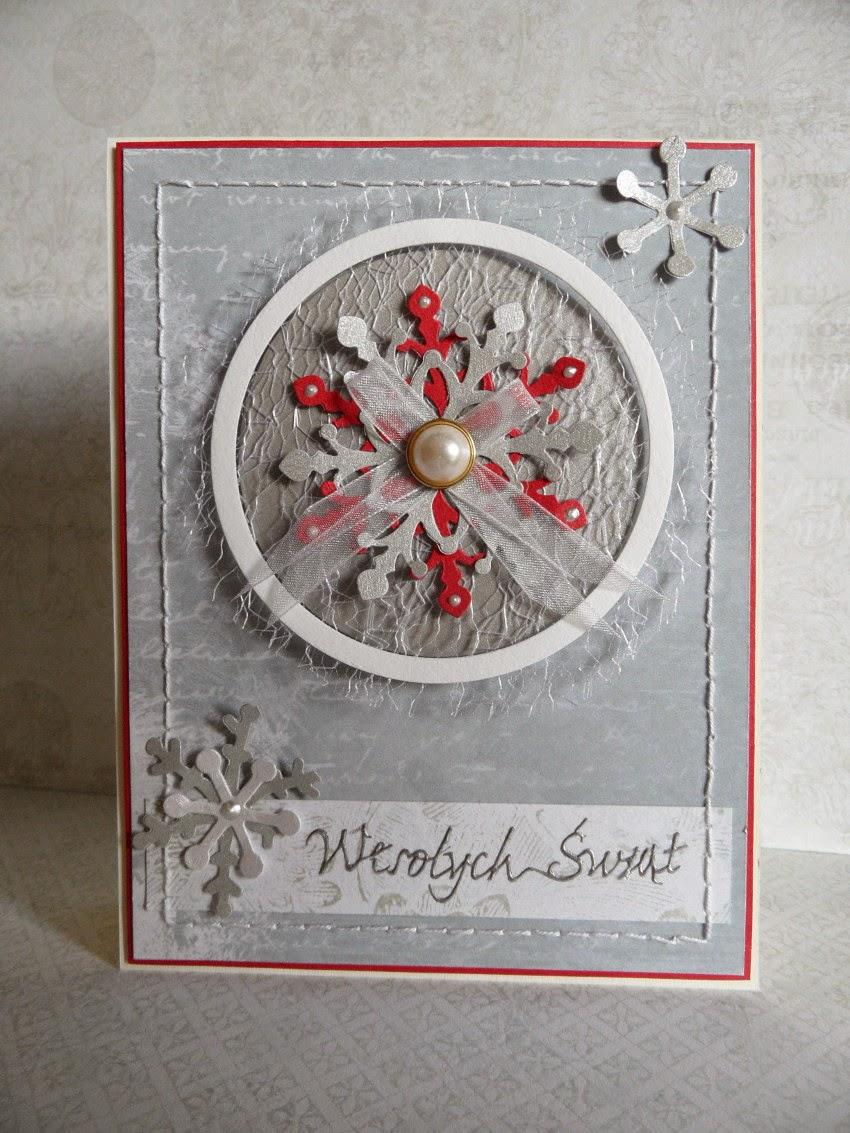 kartka ręcznie robiona święta