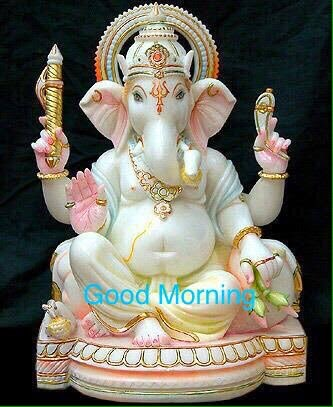 god ganesha goodmorning wishes