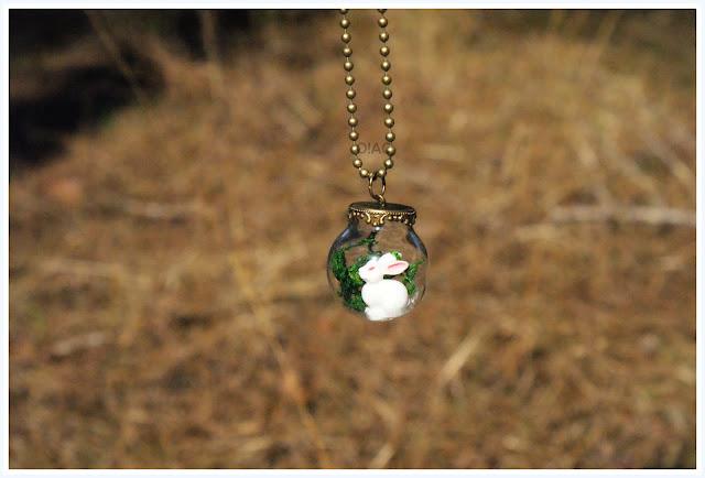 Colgante bola de cristal