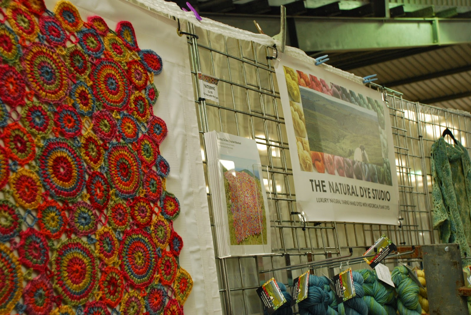 image of the natural dye studio stall