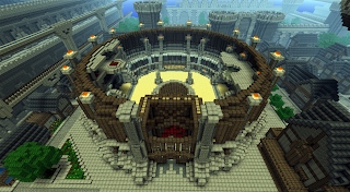 Epic medieval arena