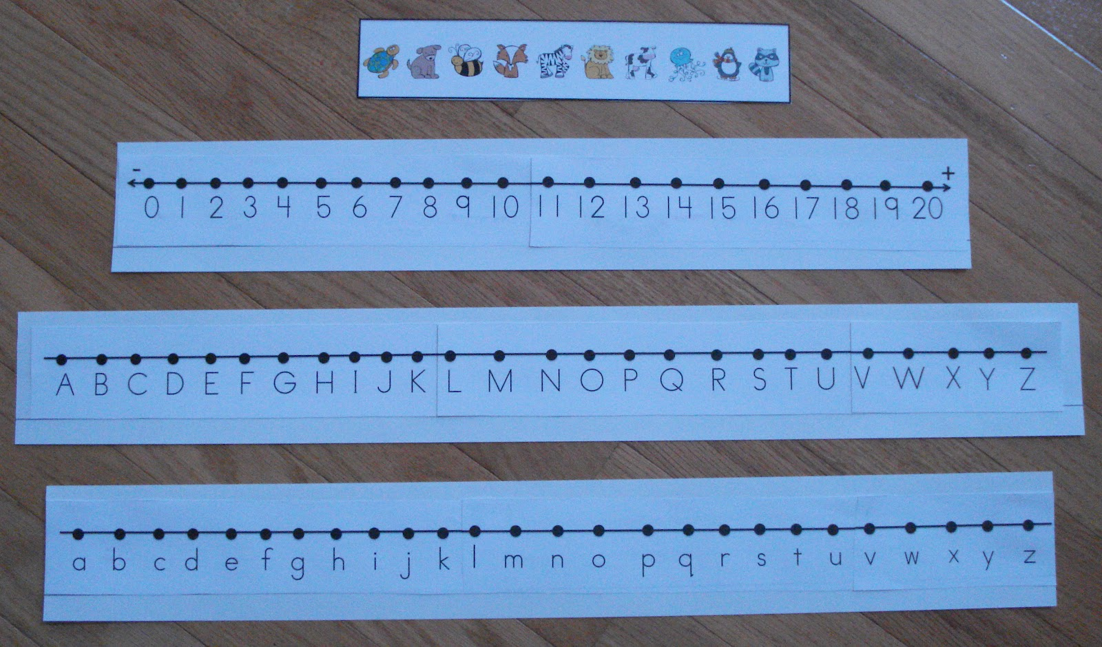 photograph relating to Alphabet Strip Printable referred to as kindertrips: Range Strains and Alphabet Strips-Freebie!