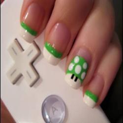 vestir las uñas también!