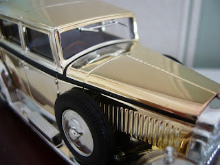 static model 1/43 of a Isotta Fraschini Type 8