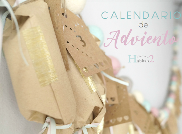 Tutorial calendario adviento estilo nórdico a precio low cost by Habitan2