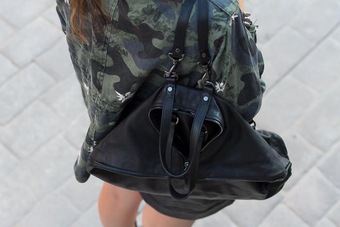 Tendencias bolso mochila de cuero