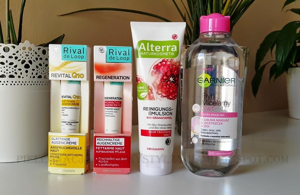 Zakupy: Rossmann, -40% na pielęgnację twarzy