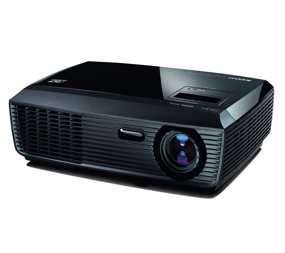 how to connect projector sanyo to laptop