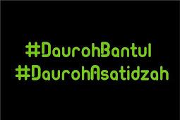 Hastag #DaurohBantul dan #DaurohAsatidzah