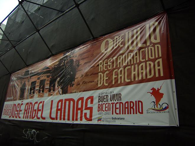 RESTAURACION FACHADA ESCUELA DE MUSICA JOSE ANGEL LAMAS