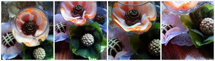 Forminhas camélia para doces finos