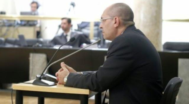 El juez Elpidio Silva declarando en su juicio por prevaricación