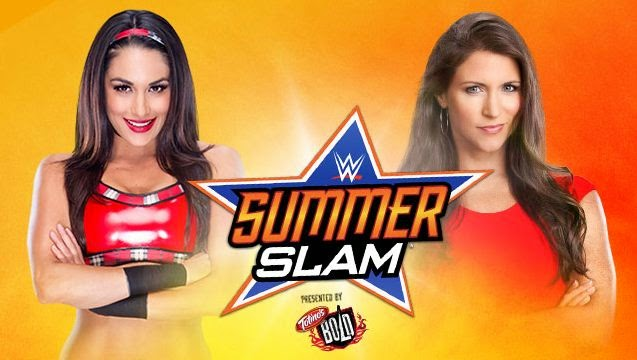 WWE SummerSlam 2014 » Brie Bella vs. Stephanie McMahon