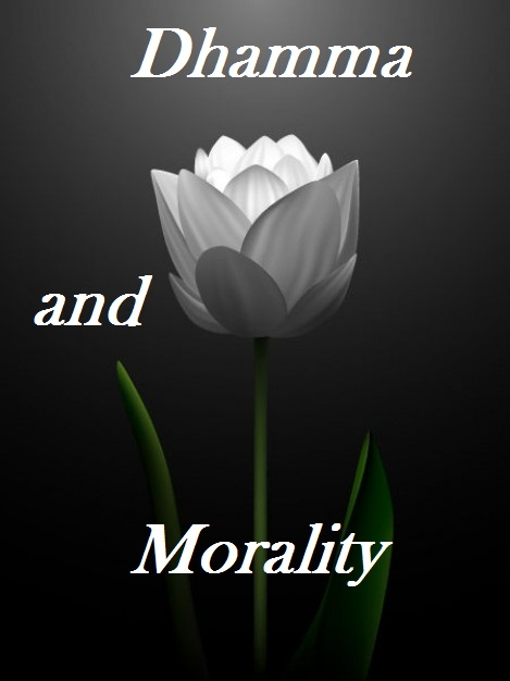 buddhism and morality Essentially, according to buddhist teachings, the ethical and moral principles are governed by examining whether a certain action, whether connected to body or speech is likely to be harmful to one's self or to others and thereby avoiding any actions which are likely to be harmful.