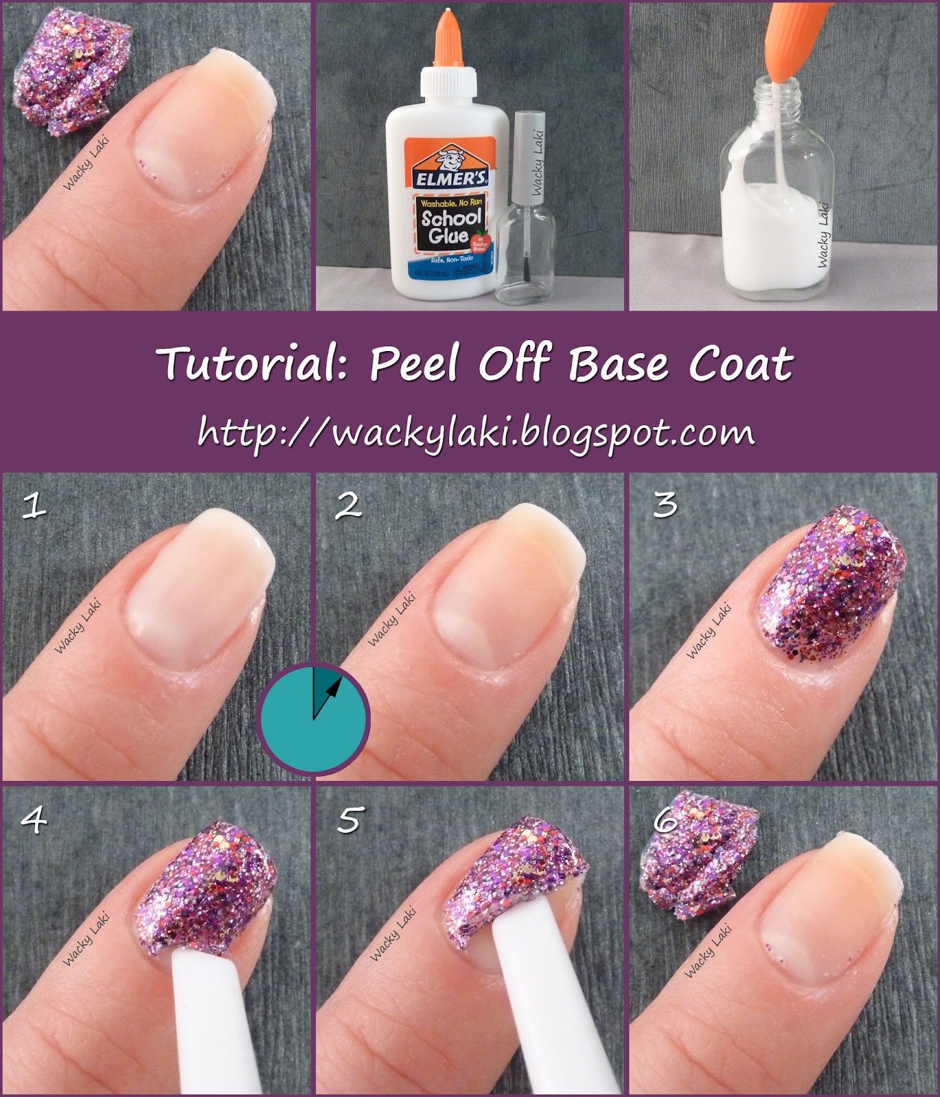 depend glitter base coat