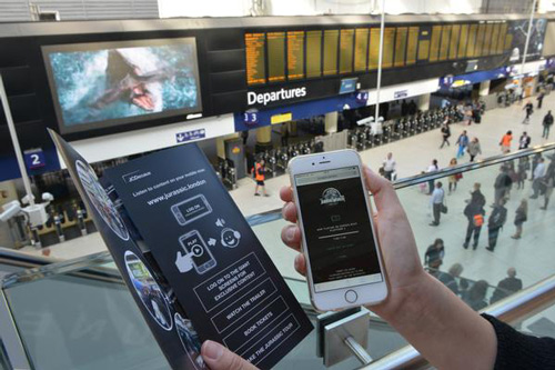 Jurassic World DOOH Mobile Advertising