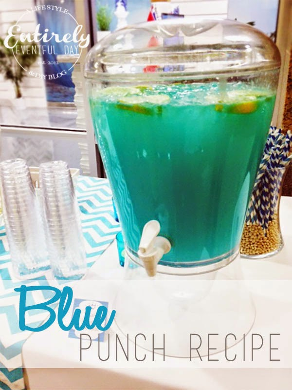 this punch is perfect for a baby shower beach party or birthday