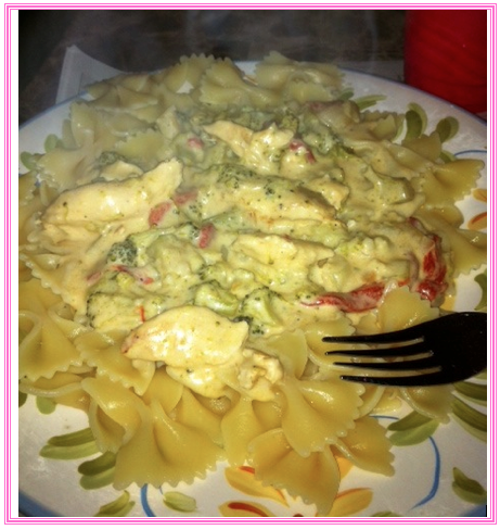 how to cook chicken alfredo in a crock pot