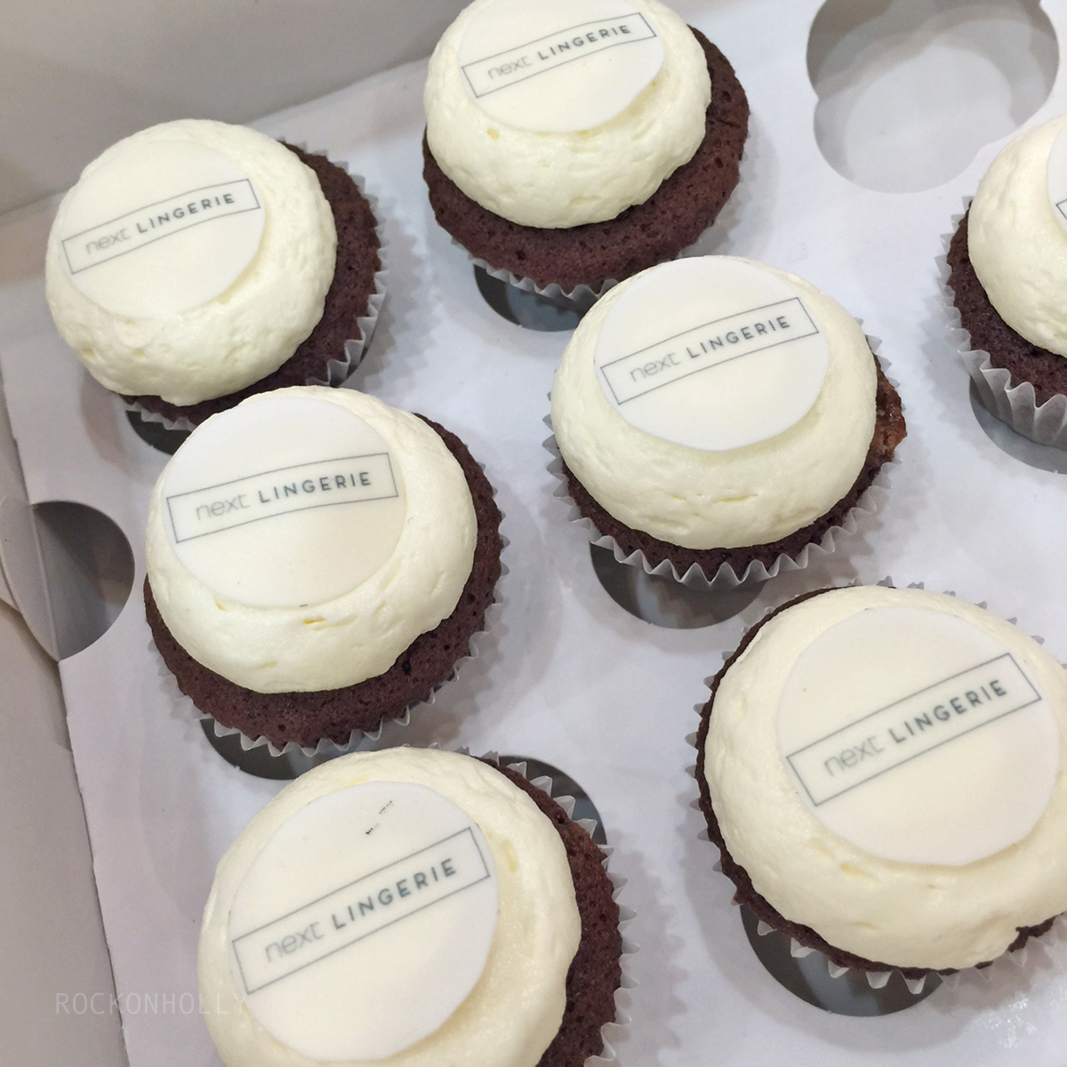 Next Lingerie Event - cupcakes